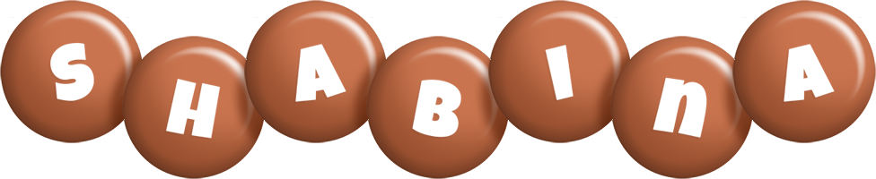 Shabina candy-brown logo