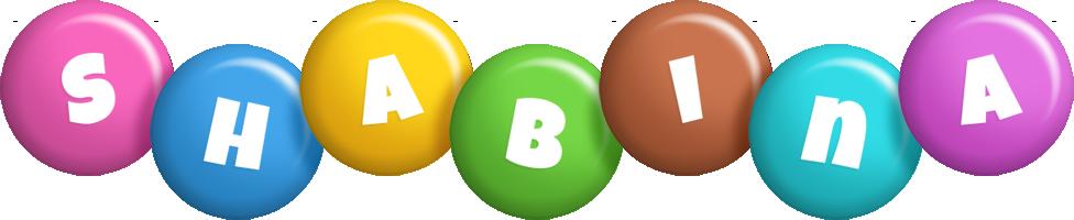 Shabina candy logo
