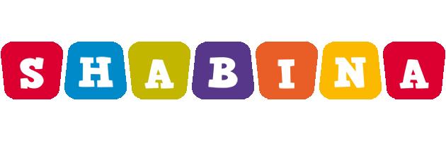 Shabina daycare logo