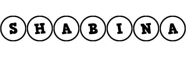 Shabina handy logo