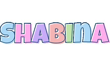 Shabina pastel logo