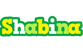 Shabina soccer logo