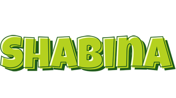 Shabina summer logo