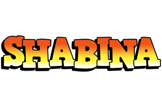 Shabina sunset logo