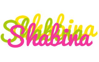 Shabina sweets logo