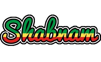 Shabnam african logo
