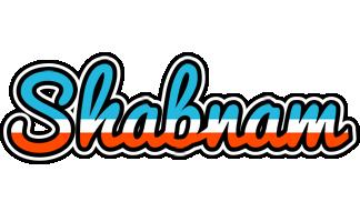 Shabnam america logo