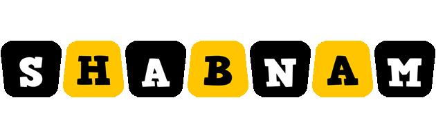 Shabnam boots logo