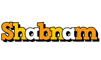 Shabnam cartoon logo