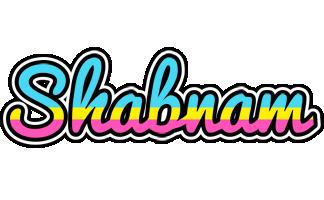 Shabnam circus logo