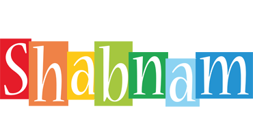 Shabnam colors logo