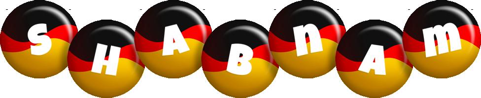 Shabnam german logo