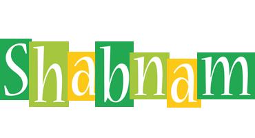 Shabnam lemonade logo