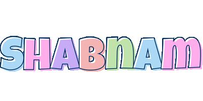 Shabnam pastel logo