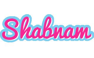 Shabnam popstar logo