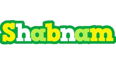 Shabnam soccer logo