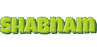 Shabnam summer logo