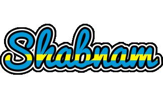 Shabnam sweden logo