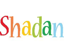 Shadan birthday logo