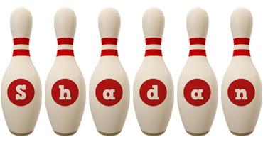 Shadan bowling-pin logo