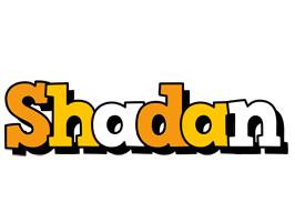 Shadan cartoon logo