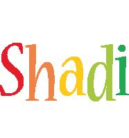 Shadi birthday logo