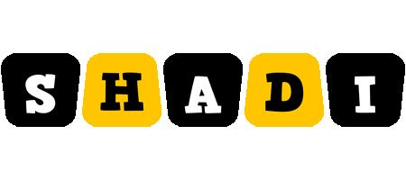 Shadi boots logo