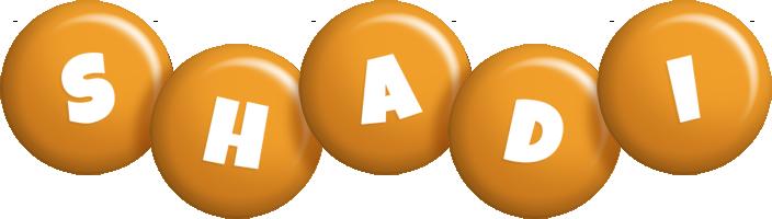 Shadi candy-orange logo