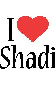 Shadi i-love logo