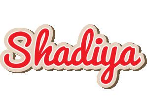 Shadiya chocolate logo