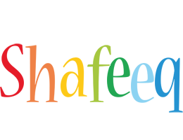 Shafeeq birthday logo
