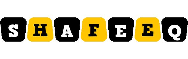 Shafeeq boots logo