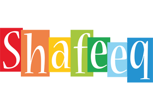 Shafeeq colors logo