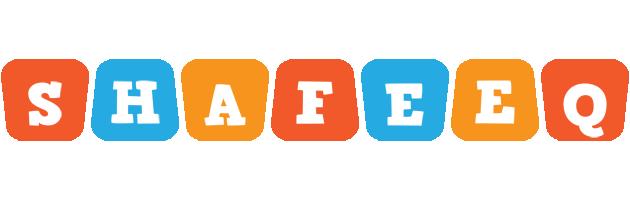 Shafeeq comics logo