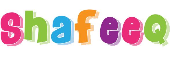 Shafeeq friday logo