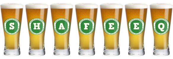 Shafeeq lager logo