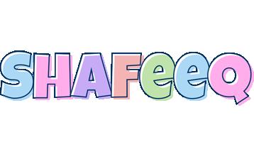 Shafeeq pastel logo