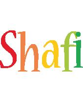 Shafi birthday logo