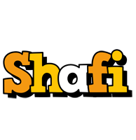 Shafi cartoon logo