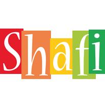 Shafi colors logo