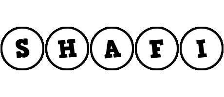 Shafi handy logo