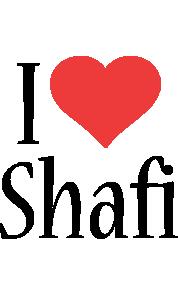 Shafi i-love logo