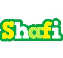 Shafi soccer logo
