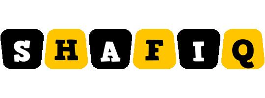 Shafiq boots logo