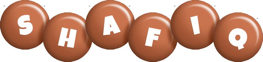 Shafiq candy-brown logo