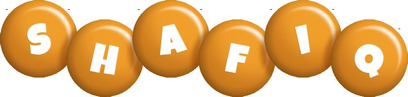 Shafiq candy-orange logo