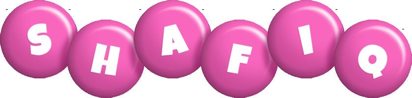 Shafiq candy-pink logo