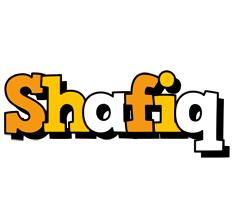 Shafiq cartoon logo