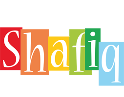 Shafiq colors logo