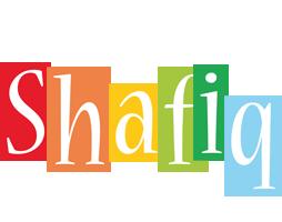 Shafiq colors logo